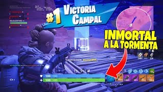 BE IMMORTAL IN FORTNITE THE TORMENT DOES NOT HURT ME *TAKE THE BUG*