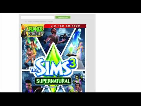 how to download sims 3 without disk but with code