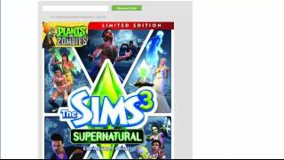 [PC, Xbox 360, PS3] The Sims 3: Supernatural Expansion Free Codes! [Proof]
