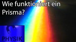 Wie funktioniert ein Prisma? Das Spektrum der Sonne