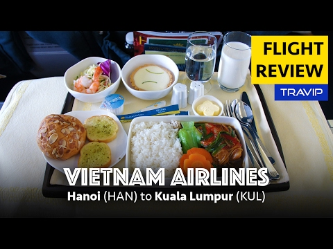 Vietnam Airlines Business Class Review: Hanoi to Kuala Lumpu