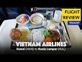 Vietnam Airlines Business Class Review: Hanoi to Kuala Lumpur