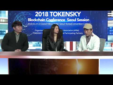 DeepBrain Chain's interview before TOKENSKY conference