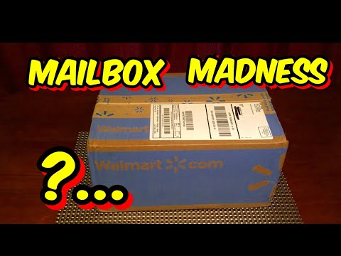 MAILBOX MADNESS!!!.... , Walmart Delivery!!