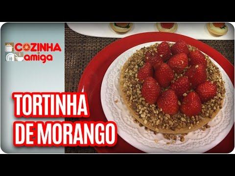 Tortinha De Frutas - Chef Dalva Zanforlin | Cozinha Amiga (18/05/17)