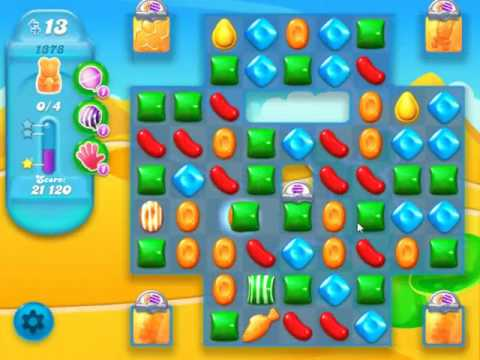 Candy Crush Soda Saga Level 1378 - NO BOOSTERS