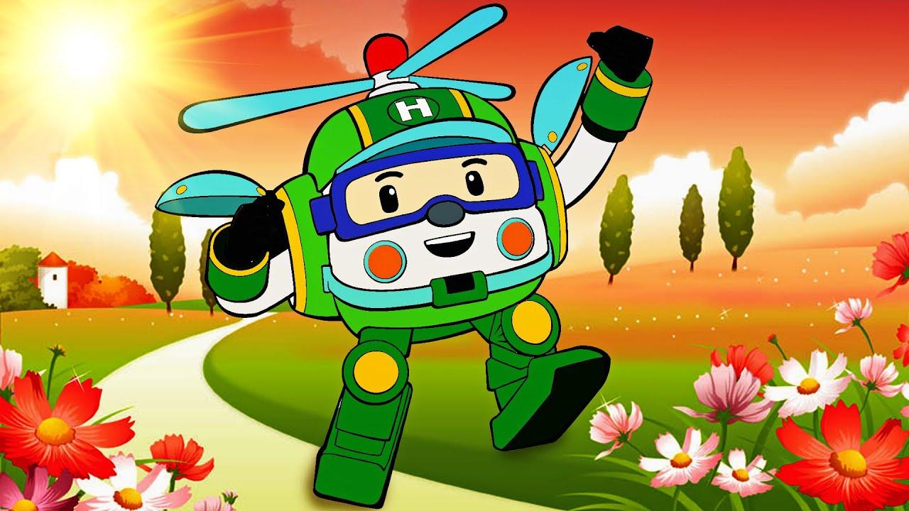 Robocar heli robocar poli youtube - Robocar poli heli ...