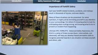 Ultimate Hazard Perception Challenge: Forklifts   Advanced Safety Awareness Online Course Preview
