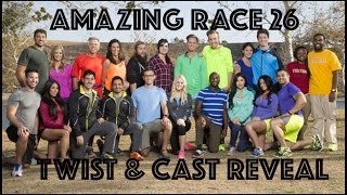 Amazing Race Season 26 Twist & Cast Reveal