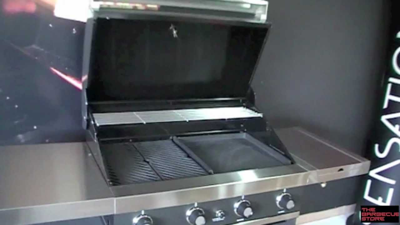 Barbecue Gasgrill Barbacoa A Gas Grandhall Gti-4 - Youtube