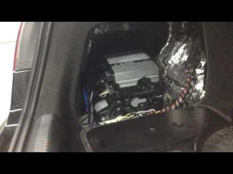 2010 audi a5 jl audio subwoofer upgrade by al-eds autosound hb 714-848-8489