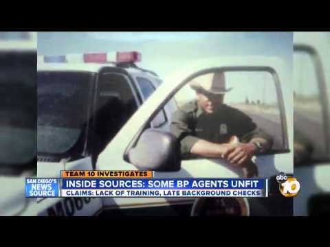 Border Patrol training questions