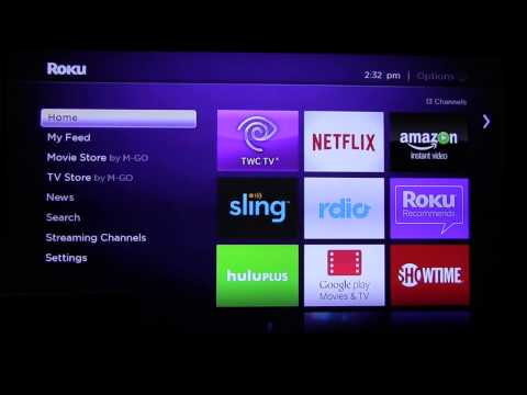 How to install the EnovativeTV App on Roku.