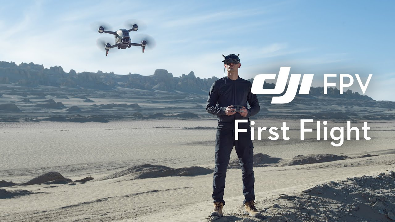 Want to get the DJI FPV drone? Watch these videos first