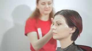 Concept: Салонное окрашивание волос видео урок