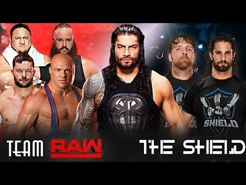 Roman Reigns in Team Raw Or Join The Shield ? Roman Reigns Role At Survivor Series 2017 Match Cards