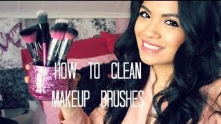 Easy Way To Clean Makeup Brushes: Synthetic & Natural Bristles
