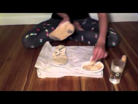 Pancaking ballet technique shoes