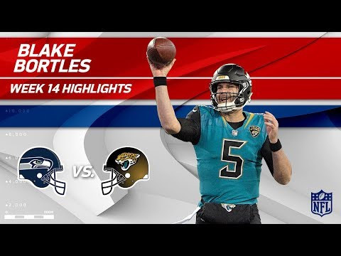 Blake Bortles' Big Day w/ 2 TDs vs. Seattle! | Seahawks vs. Jaguars | Wk 14 Player Highlights