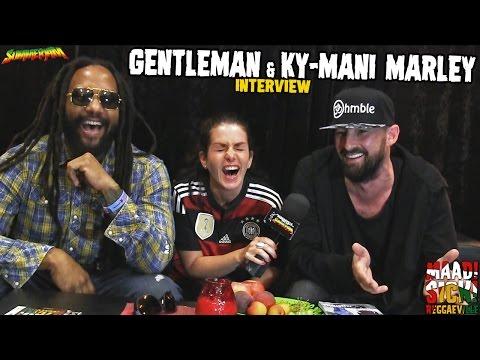 Gentleman & Ky-Mani Marley - Interview @SummerJam 2016