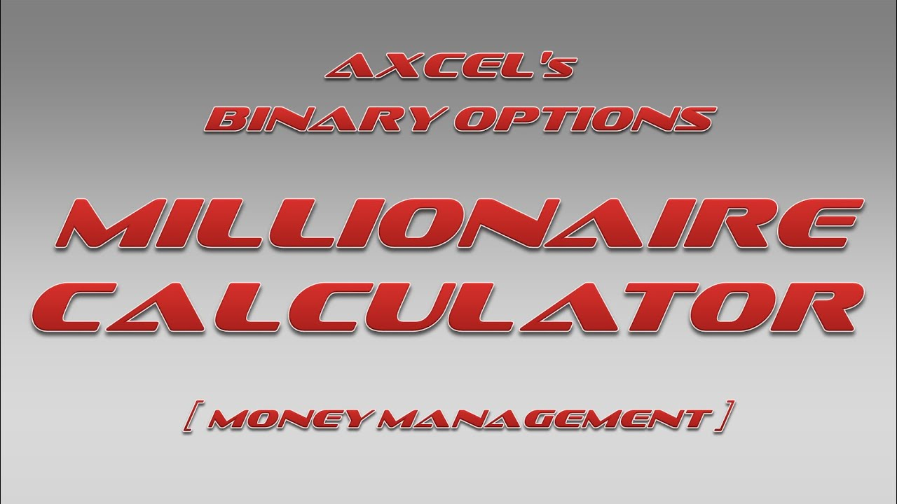 Binary option calculator online