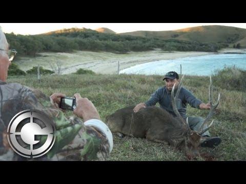 Mike Davidson Marble Island Australia Rusa Deer Hunt