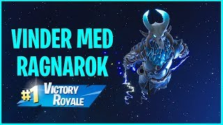 WINS FIRST GAME WITH RAGNAROK SKIN IN FORTNITE!