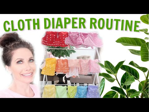 MY CLOTH DIAPER ROUTINE | HOW I WASH & STORE MY CLOTH DIAPERS
