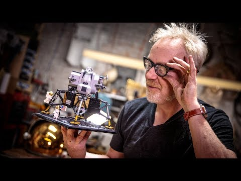 Adam Savage's One Day Builds: LEGO Lunar Lander