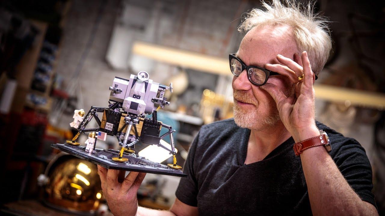 Adam Savage's One Day Builds: LEGO Lunar Lander