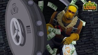 RAPTOR ROBS THE V-BUCK BANK -SEASON 5 -Fortnite Court Métrage