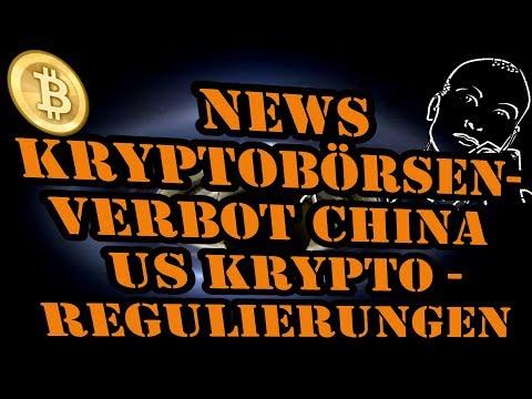 News Kryptobörsenverbot China Singapur US Krypto Regulierungen - Bitcoin Deutsch