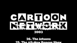 Top 26 Best Cartoon Network Shows in the Philippines in 2003