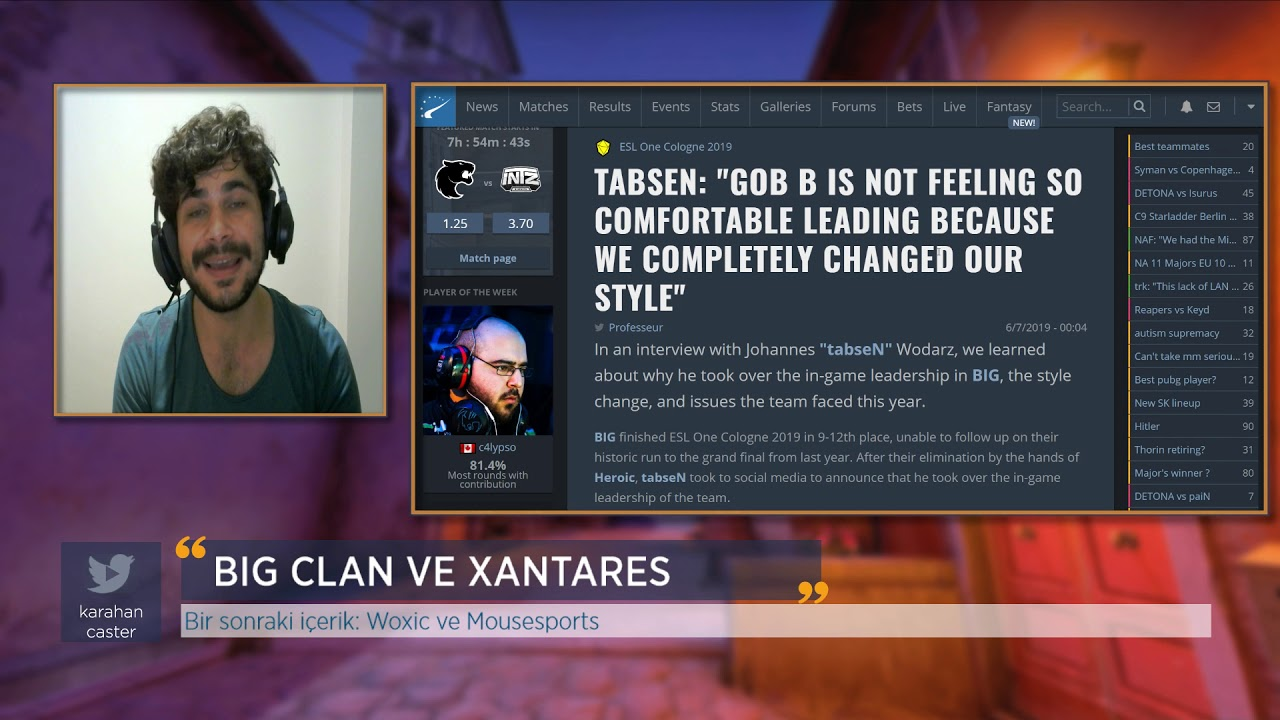 BIG Clan ve Xantares Değerlendirmesi Videosu
