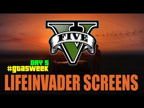 The GTA Show || Episode 12 || Life Invader Social Network & Screenshots Analyzed
