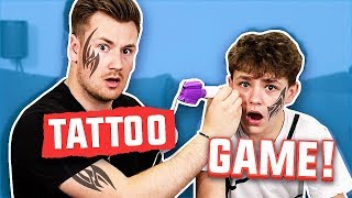 BROTHERS GIVE EACH OTHER TATTOOS #2