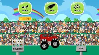 #Веселье#безумие#монстров#бездорожья для#малышей#самых#маленьких#Автомойка#детей#car#wash#sabway