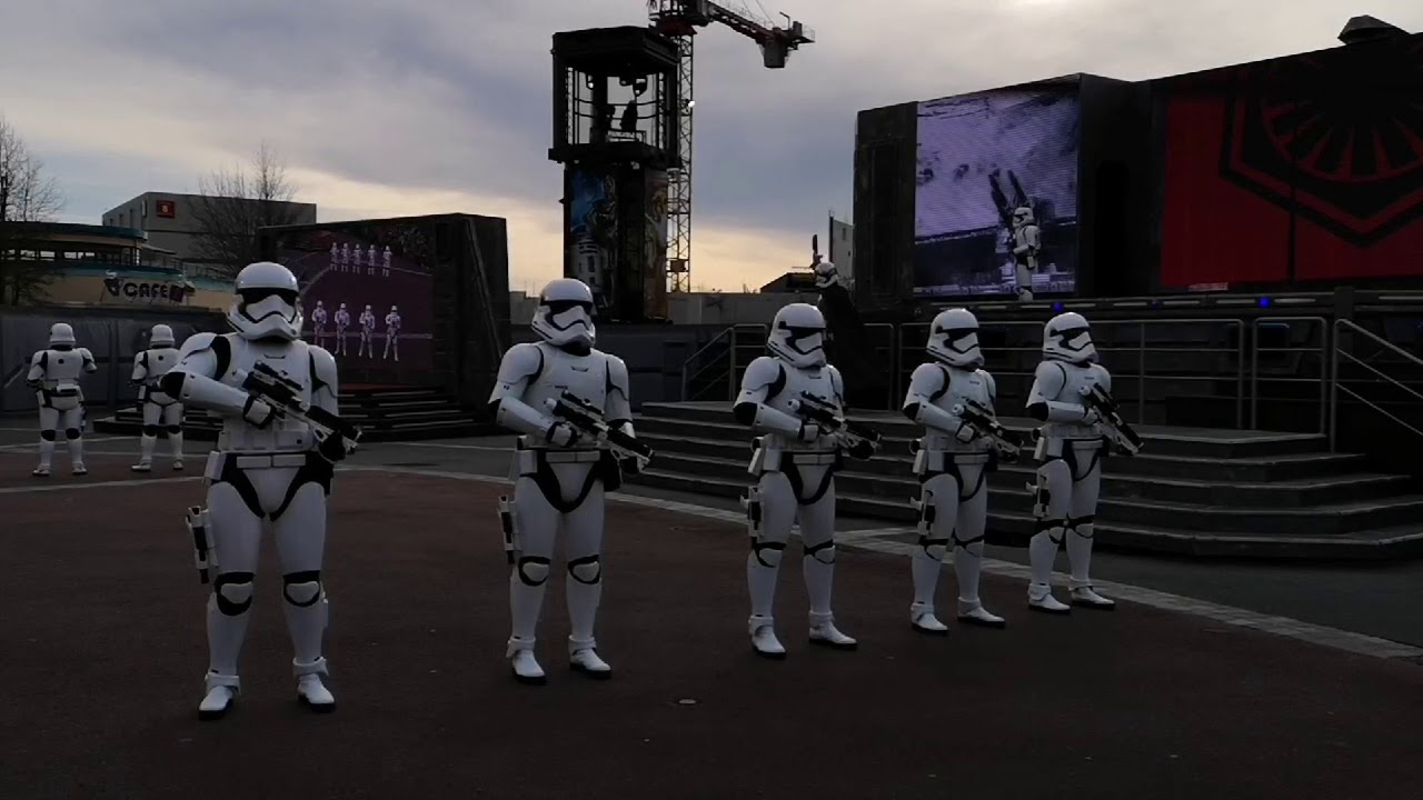 ALL NEW 2020 First Order March at Disneyland Paris