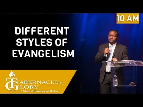 Brother Junior Charles   Different Styles of Evangelization   TG   10 AM