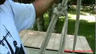 Real Lineman Bowline on a Bight