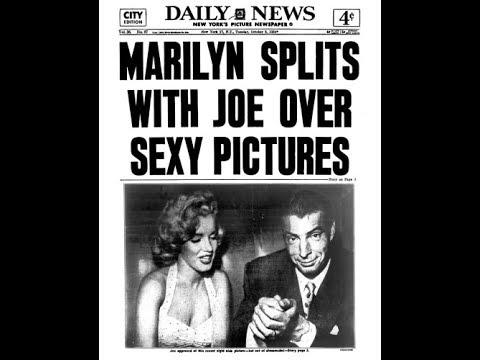 Marilyn Monroe, Joe Dimaggio And Frank Sinatra -