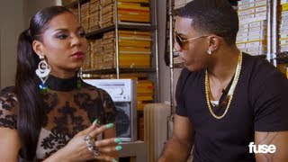 Nelly Talks to Ashanti About Chris Brown, Twitter and Women