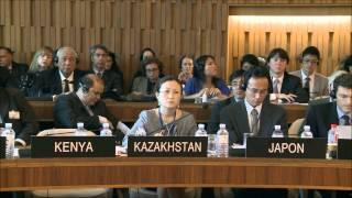 Акция в поддержку М. Юсафзай в штаб-квартире ЮНЕСКО