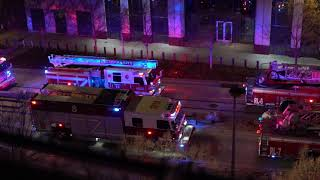 OKC Fire Department responds to fire in First National Center