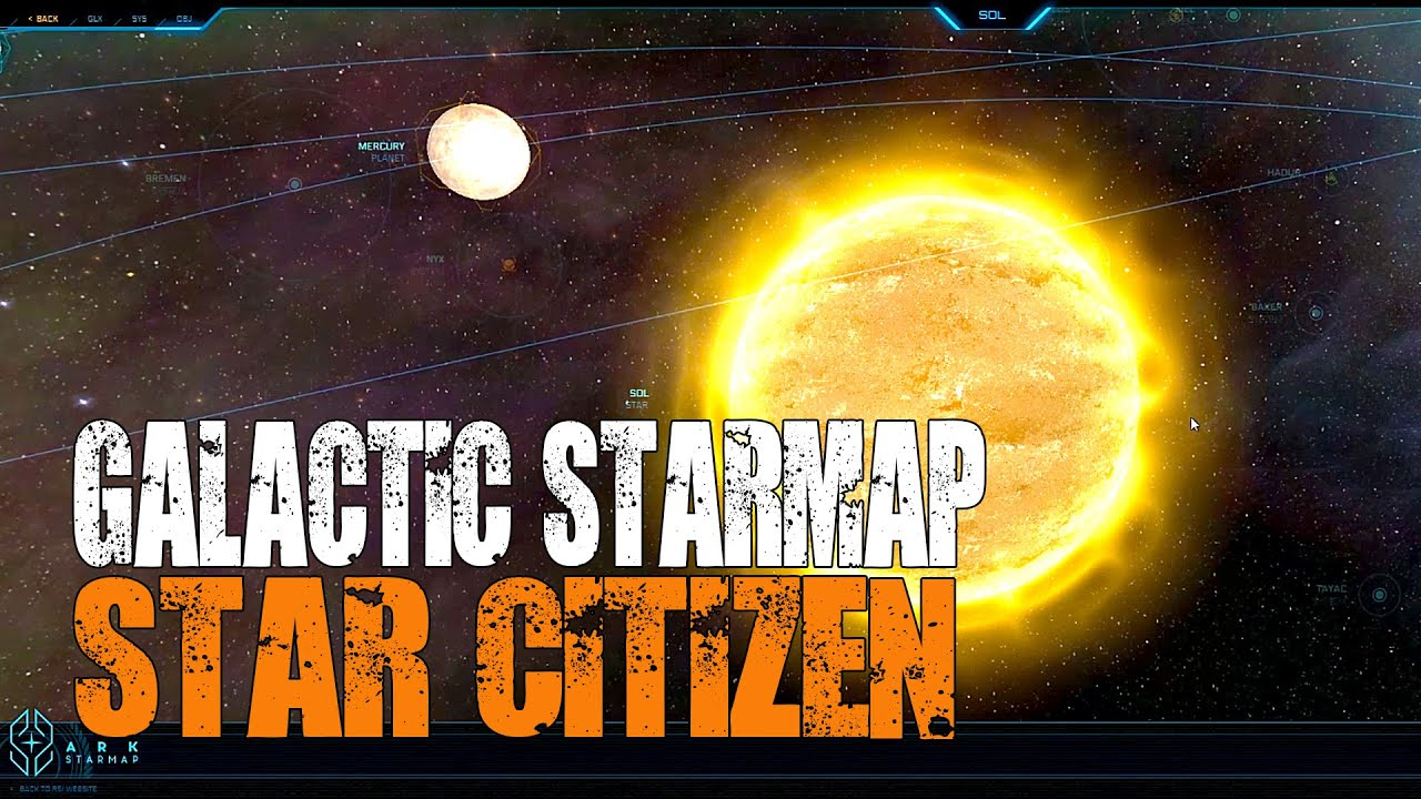 Rsi Star Map.Star Citizen Galactic Star Map