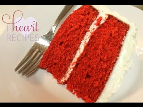 How To Make Red Velvet Cake - Easy Recipe - I Heart Recipes