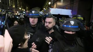 Les images de l'interpellation d'Eric Drouet