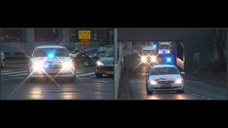 Spoedtransport vanaf ernstig ongeval Vierpolders naar Erasmus MC