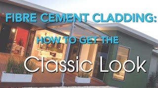 Fibre Cement Cladding: How To Get The Classic Rendered Look Without The Mess