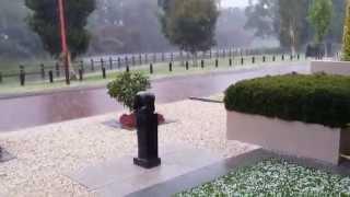 Hail storm and then the rain, Perth, Western Australia